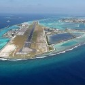 Airport in the Maldives