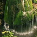 Amazing waterfall in Romania