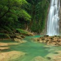 Awesome Cikaso Waterfall, Indonesia