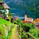 Beautiful village of Hallstatt, Austria