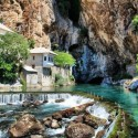 Blagaj, region of the Mostar basin, Bosnia and Herzegovina