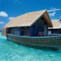 Boat hotel at Cocoa Island Resort, Maldives