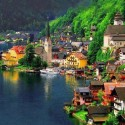 Wonderful village of Hallstatt, Austria