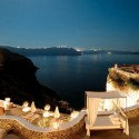 Relaxing Place in Santorini, Oia, Greece