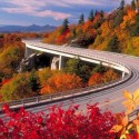 The Blue Ridge Parkway, North Carolina, USA