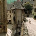 Village of Conques, Midi Pyrenees, France