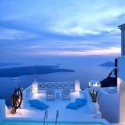 A Wonderful Evening in Santorini , Greece