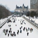 A highlight of winter in Ottawa, Canada
