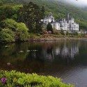 Kylemore Castle, in Connemara, County Galway, Republic of Ireland