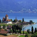Lake Thun , Switzerland