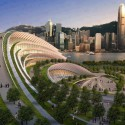 Proposed Express Rail Link West Kowloon Terminus , Hong Kong, China