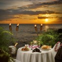 Seaside dining, Hawaii