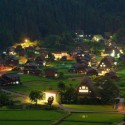 Shirakawa Go Night , Japan