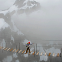 Sky Walking , Mt. Nimbus , Canada