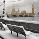 Snowy Day , London , England