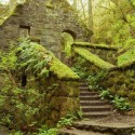 Stone House, Forest Park, Portland, Oregon, USA