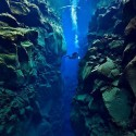 Tectonic Plate Gap Between Europe & America