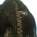 659 stairs to the top , The Guatape Rock in Colombia