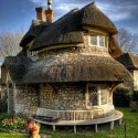 A beautiful cob house in England
