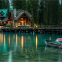 Emerald Lake , British Columbia , Canada