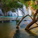 Havasu Creek Waterfall , Arizona , USA