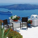 Morning in Santorini Greece
