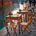 The Canal in Venice, Italy