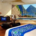 A Room with a View , Jade Mountain Resort , St. Lucia