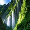 Madakaripura Waterfall , East Java , Indonesia