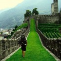 Castle Bellinzona , Switzerland