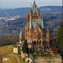 Dragon Castle , Schloss Drachenburg , Germany