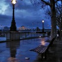 Rainy Night , London , England