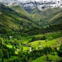 Summer Valley, Cantabria, Spain