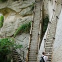 Going Up, Shaanxi Province, China