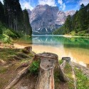 Lake Braies Dolomiti, Italy