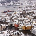 Winter in Alesund, Norway