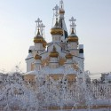 Church in Yakutsk, Siberia, Russia
