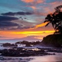 Sunset, Makena Cove, Maui, Hawaii