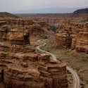 The Valley of Castles, Charyn Canyon, Kazakhstan