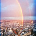 Rainbow Over Paris, France