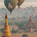 Balloon over Bagan, Myanmar