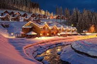 Christmas in Bukovel, Ukraine