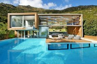 Designed the Spa House in Cape Town, South Africa By Metropolis Design