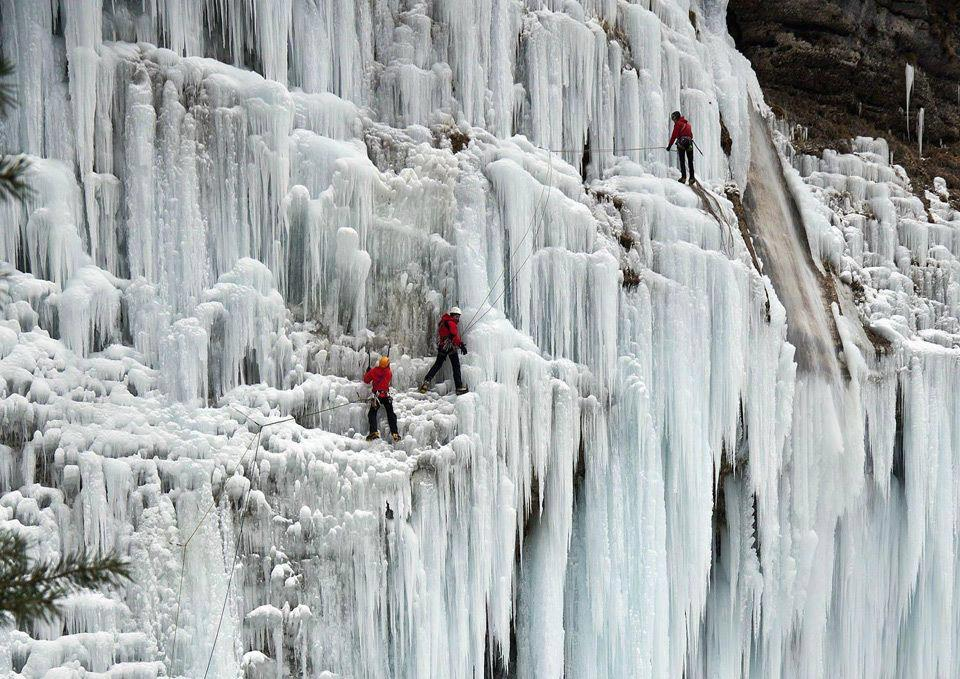 Frozen Waterfall, Solvenia