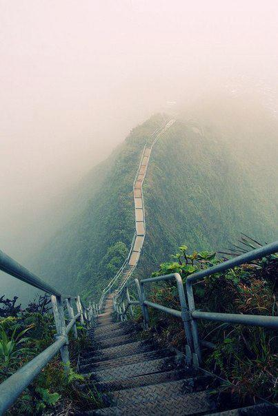Haiku Stairs, The Stairway To Heaven In Oahu