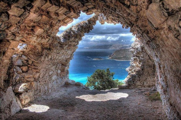 Monolithos Rhodes, Greece