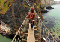 Rope Bridge, Northern Ireland
