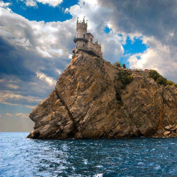 Swallow's Nest Castle at Yalta, Ukraine