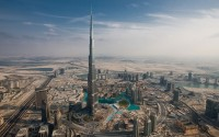 Tallest Building in the world, The Burj Khalifa in Dubai