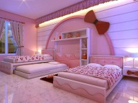 Hello Kitty Bedroom's
